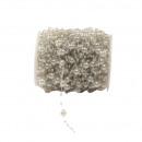 groothandel Woondecoratie: Drahtkette diameter acryl parel 3 en 8mm